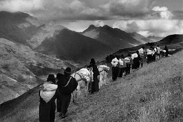 Region de Chimborazo. Ecuador. 1998. Fotógrafo Sebastião SALGADO