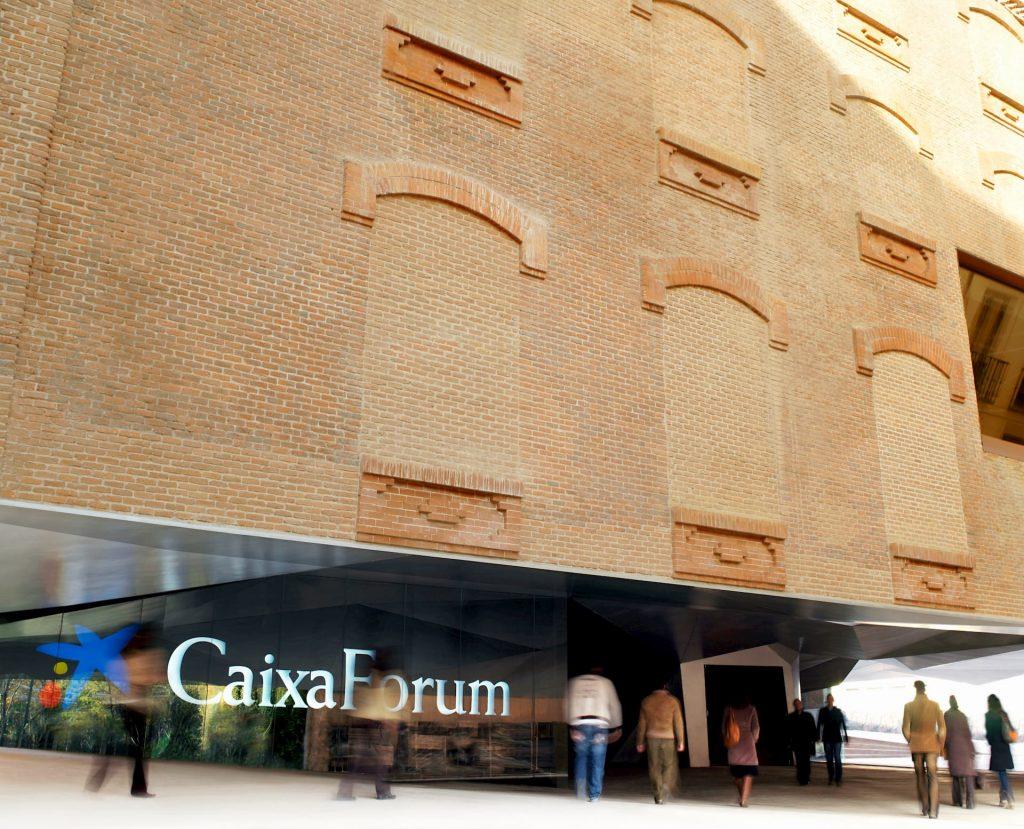 Fachada de Caixaforum Madrid
