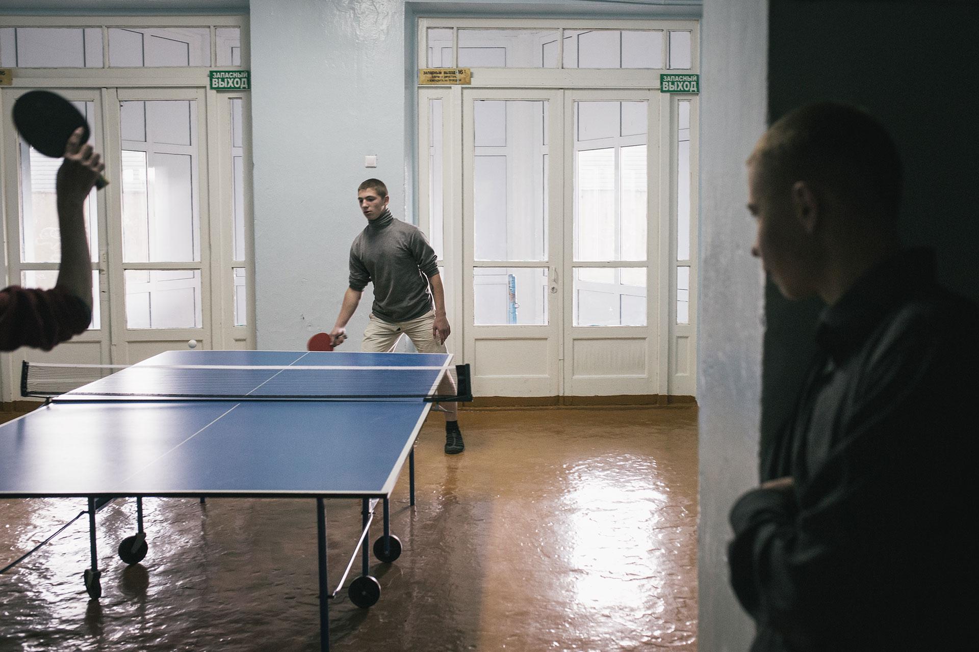 El ping pong es muy popular.