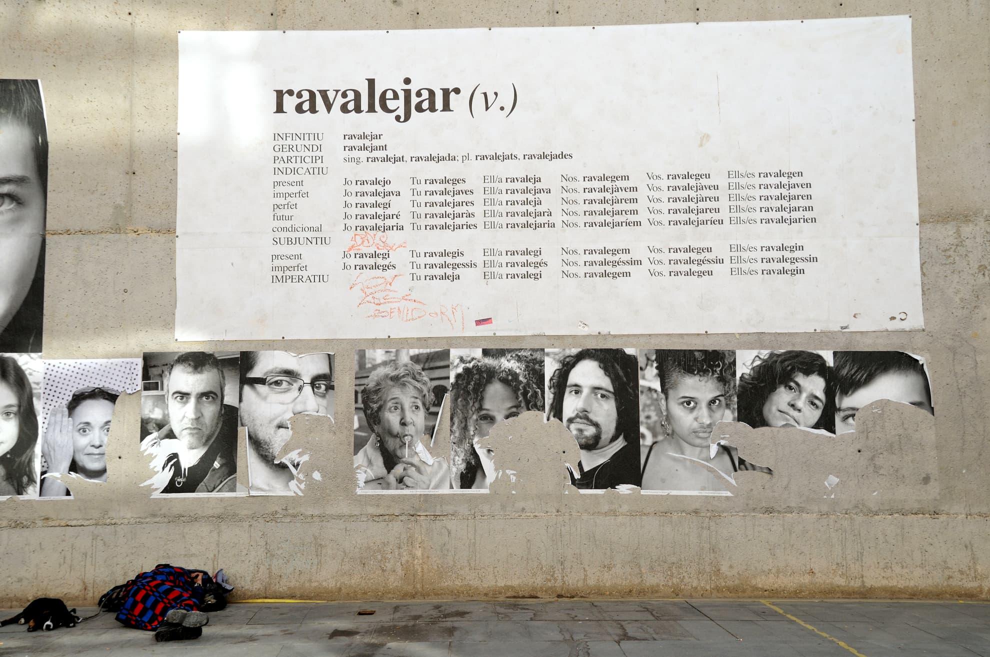 """El Raval"" Suite. Ferlandina Street no. 25. Barcelona Museum of Contemporary Art."